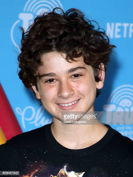 Actor Jax Malcolm attends a sneak peek of Netflix's 'True and the Rainbow Kingdom' at Pacific Theatres at The Grove on August 10 2017 in Los Angeles...
