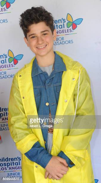 Actor Jax Malcolm attends the 2nd Annual #Action Jax Movie Morning Fundraiser screening of 'The Goonies' presented by Nerds Like Us and LRM Publicity...