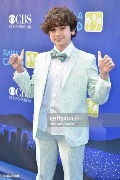 Actor Jax Malcolm attends the 5th Annual RaiseAChild HONORS Gala at Jim Henson Studios on June 10 2017 in Hollywood California