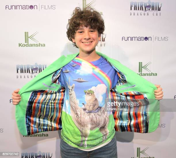 Actor Jax Malcolm attends the 'Fairy Tail Dragon Cry' Premiere at The Montalban on August 10 2017 in Hollywood California
