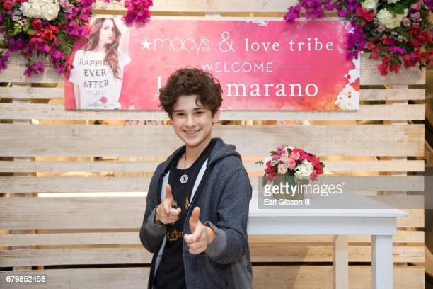 Actor Jax Malcolm attends the Launch Of Hybrid Apparel's 'Love Tribe' at Macy's South Coast Plaza on May 6 2017 in Costa Mesa California