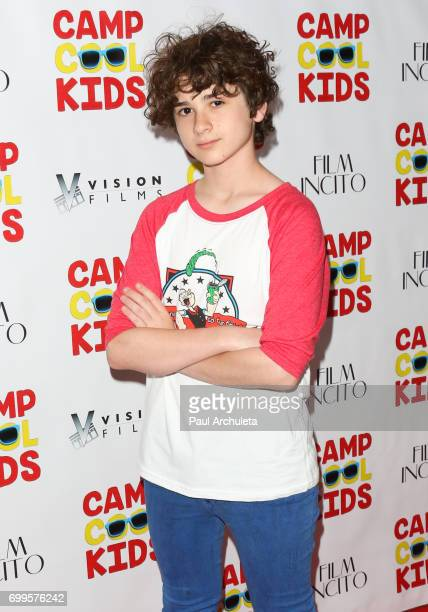 Actor Jax Malcolm attends the premiere of 'Camp Cool Kids' at The AMC Universal City Walk on June 21 2017 in Universal City California