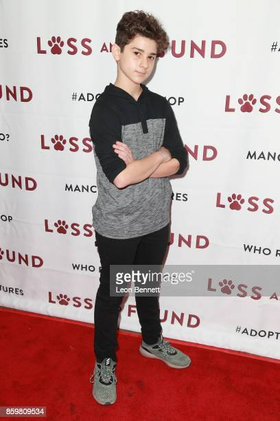 Actor Jax Malcolm attends the Premiere Of Mancinetti's 'Loss And Found' at The Downtown Independent on October 9 2017 in Los Angeles California