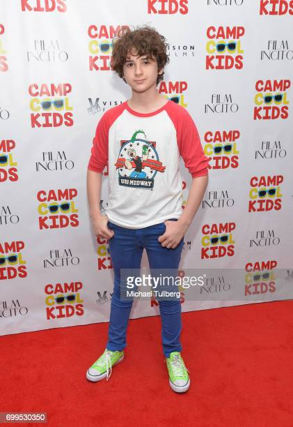 Actor Jax Malcolm attends the premiere of Vision Films' 'Camp Cool Kids' at AMC Universal City Walk on June 21 2017 in Universal City California