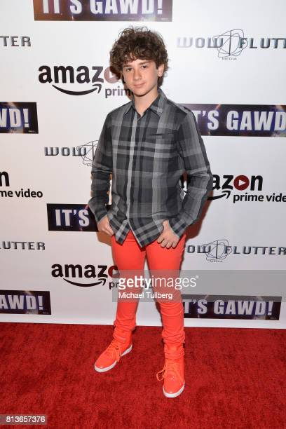 Actor Jax Malcolm attends the premiere of Wow and Flutter Media and Amazon Prime Video's 'It's Gawd' at Pacific Theatres at The Grove on July 12 2017...