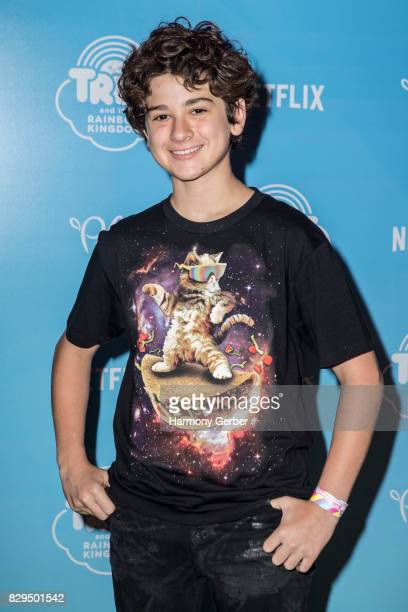 Actor Jax Malcolm attends the Sneak Peek Of Netflix's 'True And The Rainbow Kingdom' at Pacific Theatres at The Grove on August 10 2017 in Los...