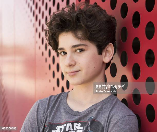 Actor Jax Malcolm poses for portrait at The Artists Project on April 12 2017 in Los Angeles California