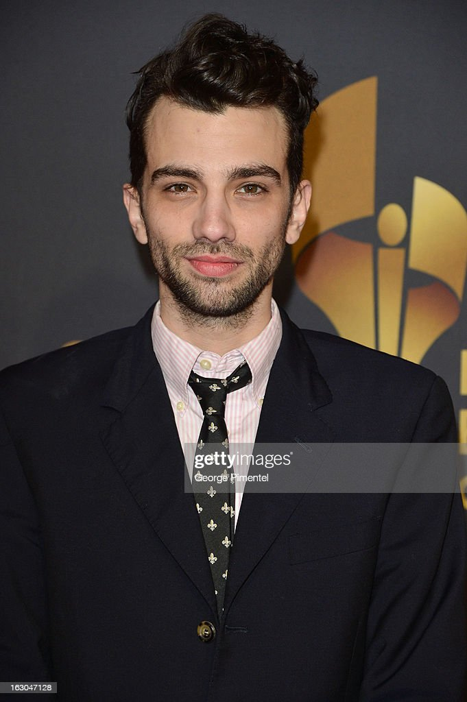 Actor <a gi-track='captionPersonalityLinkClicked' href=/galleries/search?phrase=Jay+Baruchel&family=editorial&specificpeople=662285 ng-click='$event.stopPropagation()'>Jay Baruchel</a> arrives at the Canadian Screen Awards at the Sony Centre for the Performing Arts on March 3, 2013 in Toronto, Canada.