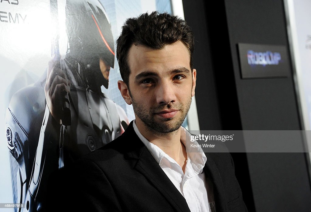 Actor <a gi-track='captionPersonalityLinkClicked' href=/galleries/search?phrase=Jay+Baruchel&family=editorial&specificpeople=662285 ng-click='$event.stopPropagation()'>Jay Baruchel</a> arrives at the premiere of Columbia Pictures' 'Robocop' at TCL Chinese Theatre on February 10, 2014 in Hollywood, California.
