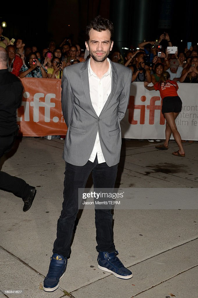 Actor Jay Baruchel arrives at the 'The Art Of The Steal' Premiere during the 2013 Toronto International Film Festival at Roy Thomson Hall on...