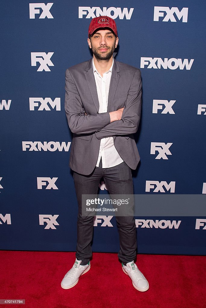 Actor Jay Baruchel attends the 2015 FX Bowling Party at Lucky Strike on April 22, 2015 in New York City.