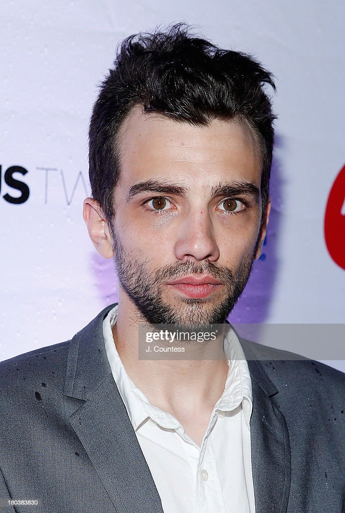 Actor <a gi-track='captionPersonalityLinkClicked' href=/galleries/search?phrase=Jay+Baruchel&family=editorial&specificpeople=662285 ng-click='$event.stopPropagation()'>Jay Baruchel</a> attends the Virgin Mobile Arts & Cinema Centre - 'The Art Of The Steal' After Party at F-Stop on September 11, 2013 in Toronto, Canada.