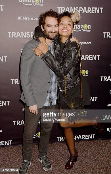 Actor JAY DUPLASS and actress Kiersey Clemons attend the 'Transparent' special screening at the Directors Guild Of America on June 1 2015 in Los...