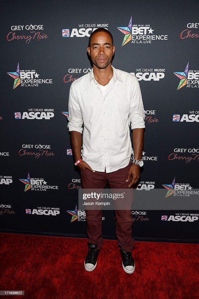 Actor Jay Ellis arrives at the Grey Goose Cherry Noir Flavored Vodka VIP after party during the 2013 BET Experience at The Conga Room at L.A. Live on June 28, 2013 in Los Angeles, California.