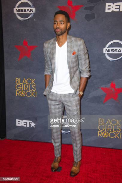 Actor Jay Ellis attends Black Girls Rock at New Jersey Performing Arts Center on August 5 2017 in Newark New Jersey