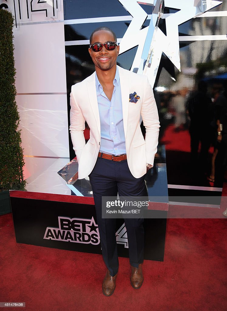Actor Jay Ellis attends the BET AWARDS '14 at Nokia Theatre L.A. LIVE on June 29, 2014 in Los Angeles, California.