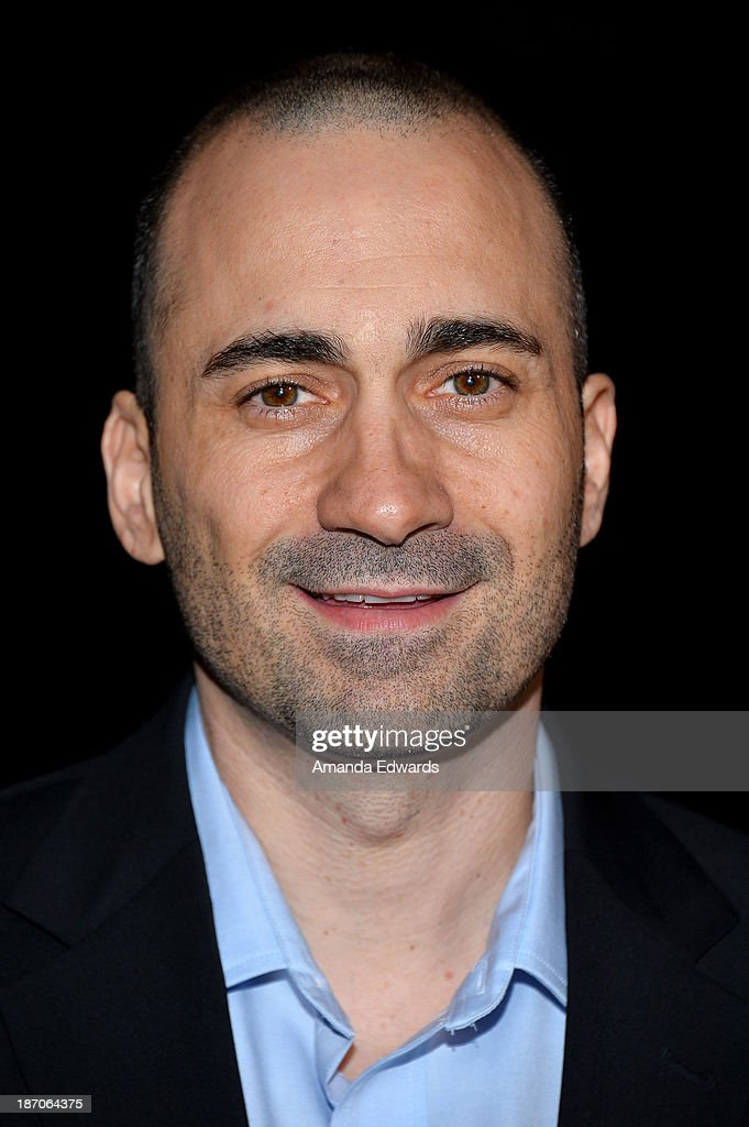 Actor Jay Giannone arrives at the Los Angeles premiere of 'How I Live Now' at ArcLight Hollywood on November 5 2013 in Hollywood California