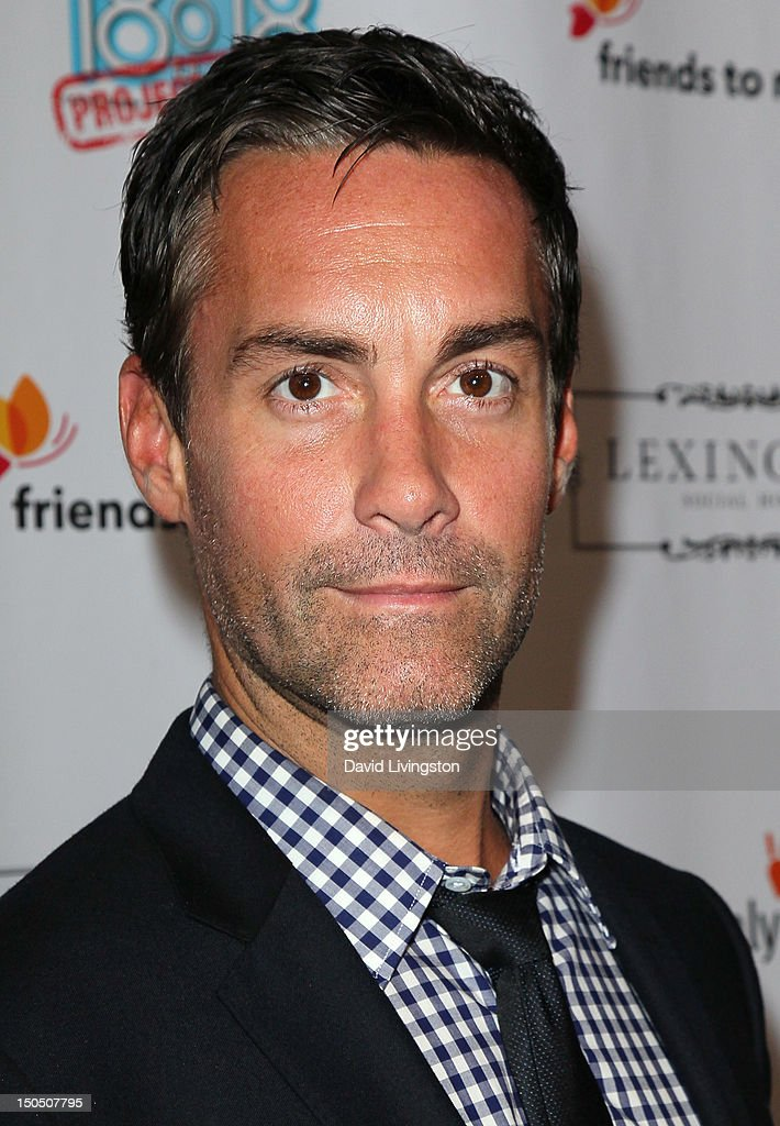 Actor Jay Harrington attends Friends to Mankind's 2nd annual 18 For 18 charity event and fundraiser 'The Jump' benefitting the Somaly Mam Foundation at Lexington Social House on August 19, 2012 in Hollywood, California.