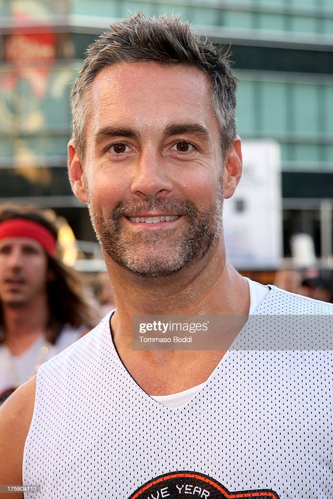 Actor Jay Harrington attends the 5th annual Nike basketball 3ON3 tournament presented by NBC4 southern california held at L.A. LIVE on August 9, 2013 in Los Angeles, California.