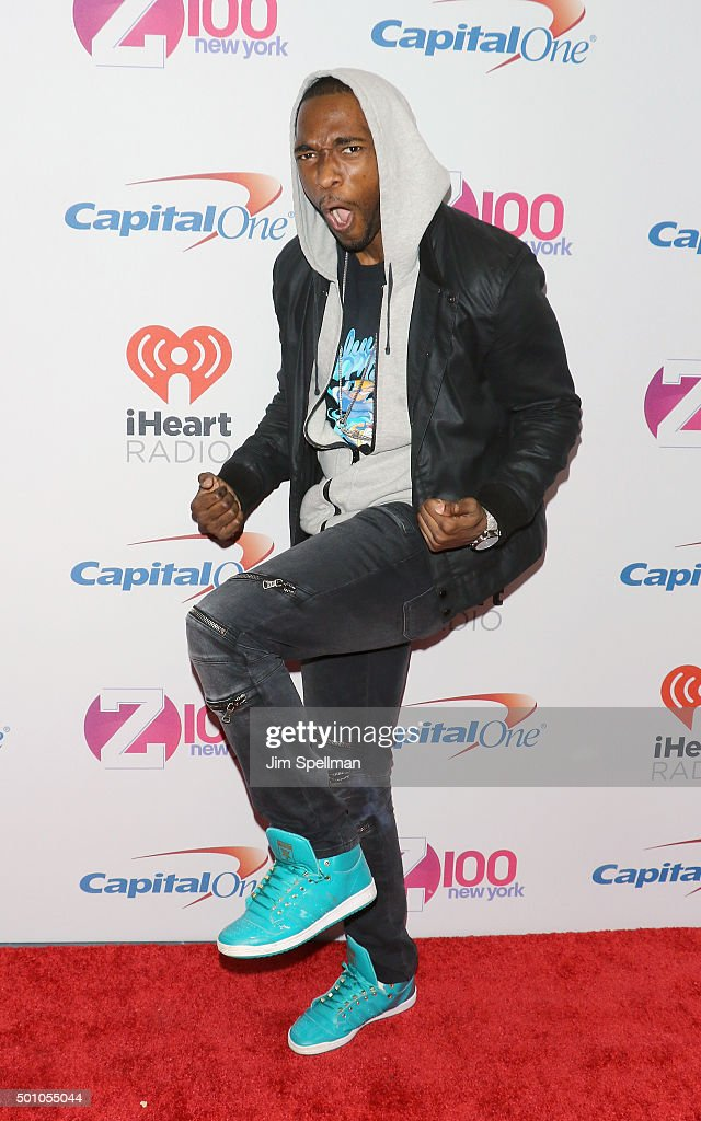 Actor Jay Pharoah attends the Z100's iHeartRadio Jingle Ball 2015 at Madison Square Garden on December 11, 2015 in New York City.