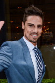 Actor Jay Ryan leaves his Midtown Manhattan hotel on May 16 2013 in New York City