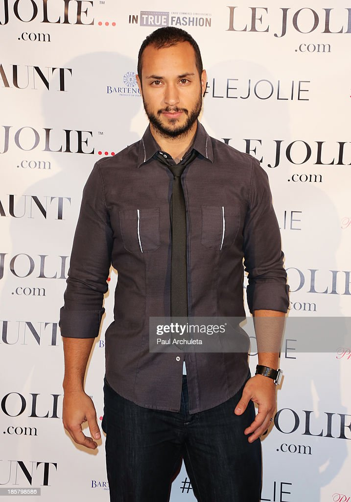 Actor Jaylen Moore attends the LeJolie.com launch party at No Vacancy Night Club on October 24, 2013 in Los Angeles, California.
