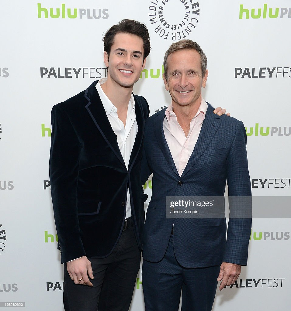 Actor Jayson Blair and Executive Producer Dante Di Loreto attend the Paley Center For Media's PaleyFest 2013 Honoring 'The New Normal' at Saban Theatre on March 6, 2013 in Beverly Hills, California.