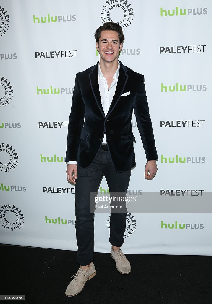 Actor Jayson Blair attends the 30th annual PaleyFest featuring the cast of 'The New Normal' at Saban Theatre on March 6, 2013 in Beverly Hills, California.