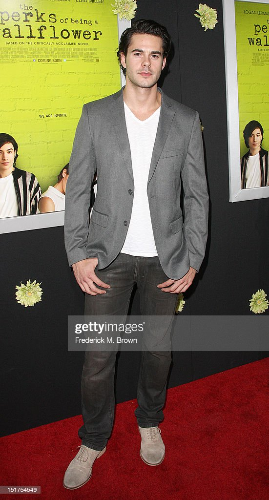 Actor Jayson Blair attends the Premiere Of Summit Entertainment's 'The Perks Of Being A Wallflower' at the Arclight Cinerama Dome on September 10, 2012 in Hollywood, California.