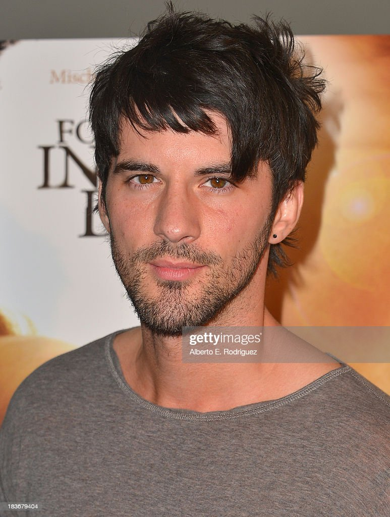 Actor Jaz Martin attends the premiere of Epic Pictures' 'I Will Follow You Into The Dark' at the Landmark Theater on October 8, 2013 in Los Angeles, California.
