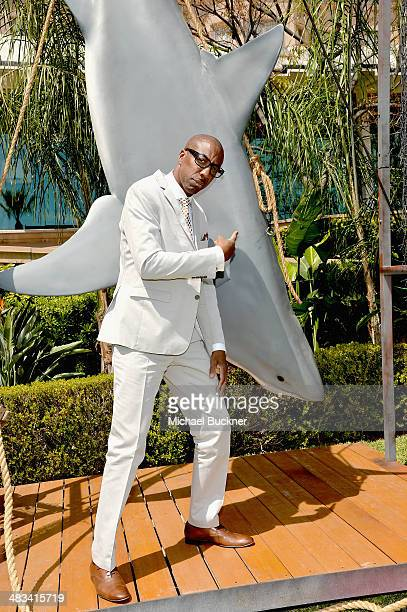 Actor JB Smoove attends NBCUniversal's Summer Press Day at Langham Hotel on April 8 2014 in Pasadena California