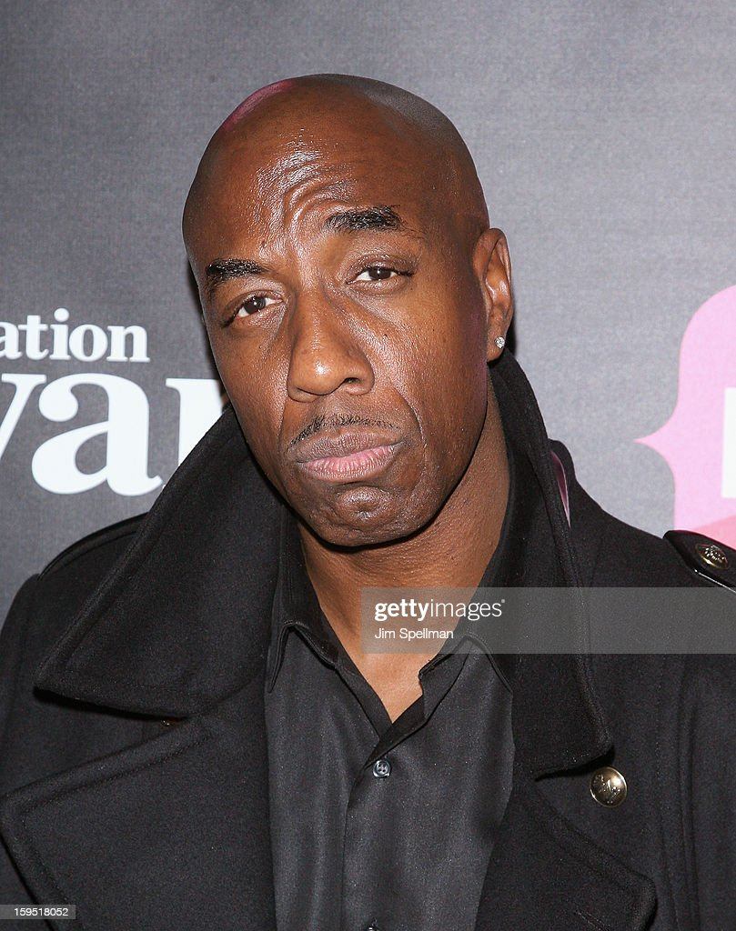 Actor <a gi-track='captionPersonalityLinkClicked' href=/galleries/search?phrase=J.B.+Smoove&family=editorial&specificpeople=3035162 ng-click='$event.stopPropagation()'>J.B. Smoove</a> attends the 'Real Husbands Of Hollywood' & 'Second Generation Wayans' screening at SVA Theatre on January 14, 2013 in New York City.