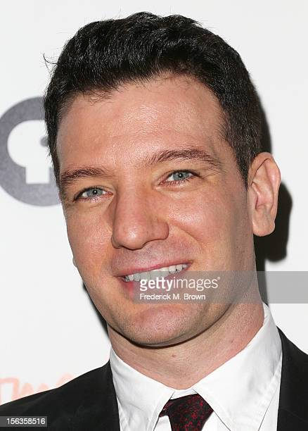 Actor JC Chasez attends the Premiere Of 'American Masters Inventing David Geffen' at The Writers Guild of America on November 13 2012 in Beverly...