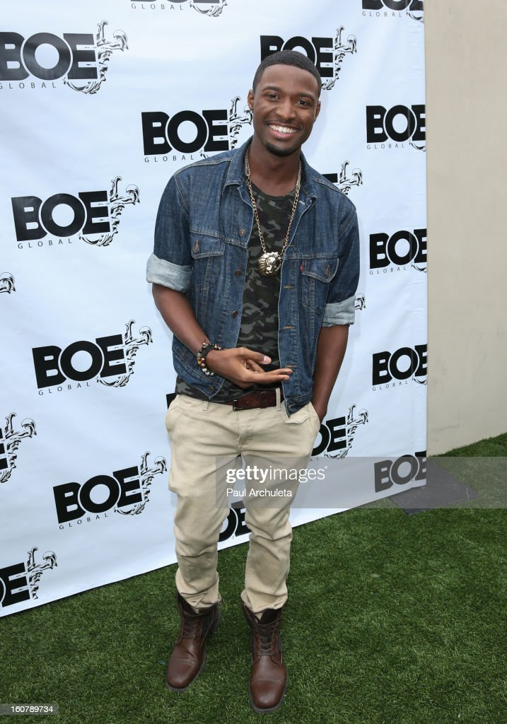 Actor JC Jones attends the 1st Annual Grammy Producers Brunch at Xen Lounge on February 5, 2013 in Los Angeles, California.