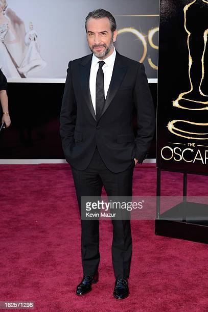 Actor Jean Dujardin arrives at the Oscars held at Hollywood Highland Center on February 24 2013 in Hollywood California