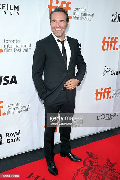 Actor Jean Dujardin attends 'The Connection' premiere during the 2014 Toronto International Film Festival at Roy Thomson Hall on September 12 2014 in...