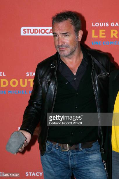 Actor Jean Dujardin attends the 'Le Redoutable' Paris Premiere at Cinema du Pantheon on September 11 2017 in Paris France