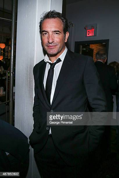 Actor Jean Dujardin attends the 'Un Plus Une' Party during the 2015 Toronto International Film Festival at Byblos on September 11 2015 in Toronto...