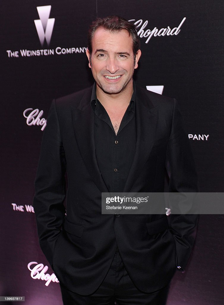 Actor <a gi-track='captionPersonalityLinkClicked' href=/galleries/search?phrase=Jean+Dujardin&family=editorial&specificpeople=620972 ng-click='$event.stopPropagation()'>Jean Dujardin</a> attends the Weinstein Company celebrates the 2012 Academy Awards presented by Chopard at Soho House on February 25, 2012 in West Hollywood, California.