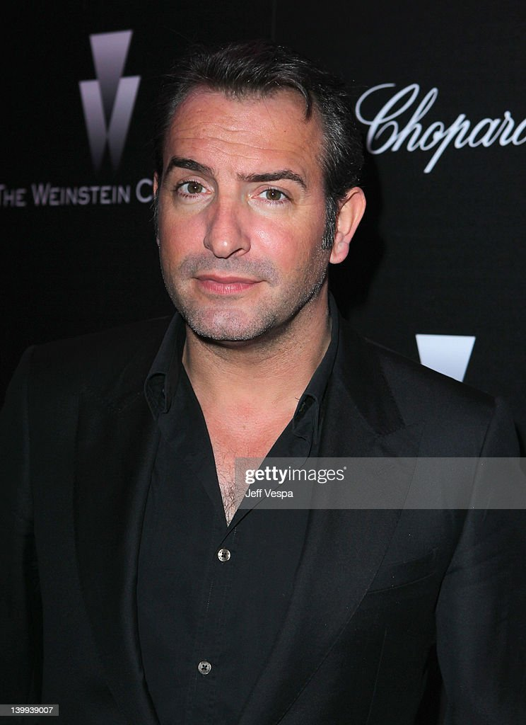 Actor <a gi-track='captionPersonalityLinkClicked' href=/galleries/search?phrase=Jean+Dujardin&family=editorial&specificpeople=620972 ng-click='$event.stopPropagation()'>Jean Dujardin</a> attends The Weinstein Company Celebrates The 2012 Academy Awards Presented By Chopard held at Soho House on February 25, 2012 in West Hollywood, California.