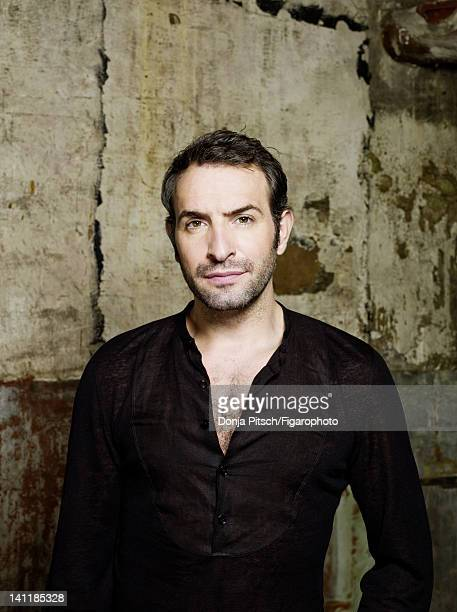 Actor Jean Dujardin is photographed for Madame Figaro on December 12 2007 in Paris France Figaro ID 078899007 Shirt by Hermes CREDIT MUST READ Donja...