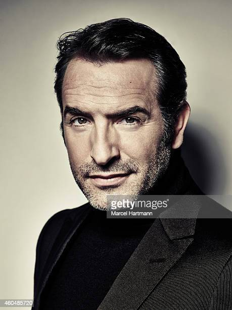 Actor Jean Dujardin is photographed for Studio Cine Live on October 21 2014 in Paris France