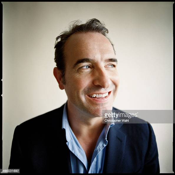 Actor Jean Dujardin is photographed for The Globe and Mail on September 15 2015 in Toronto Ontario
