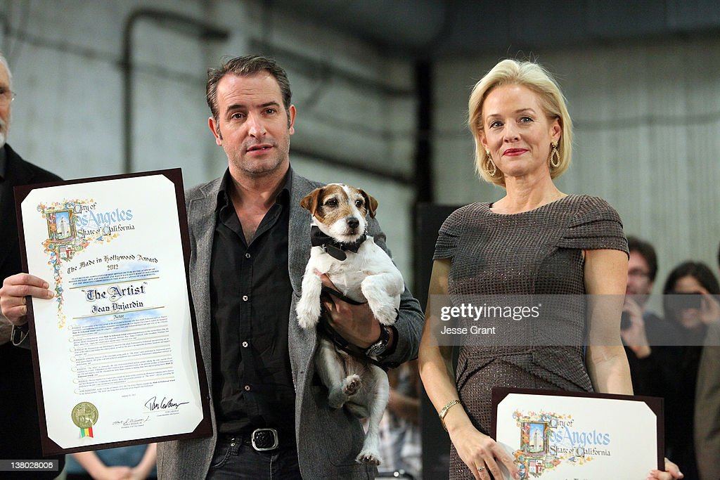 Commendation from the city of los angeles to the artist for Jean dujardin parents