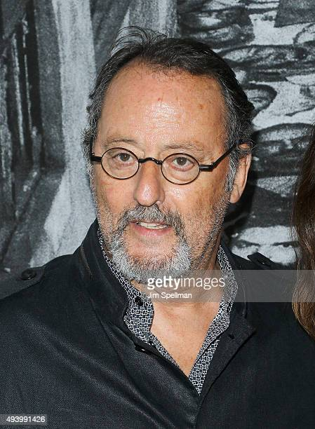 Actor Jean Reno attends the 'Ellis' New York premiere on October 23 2015 in New York City