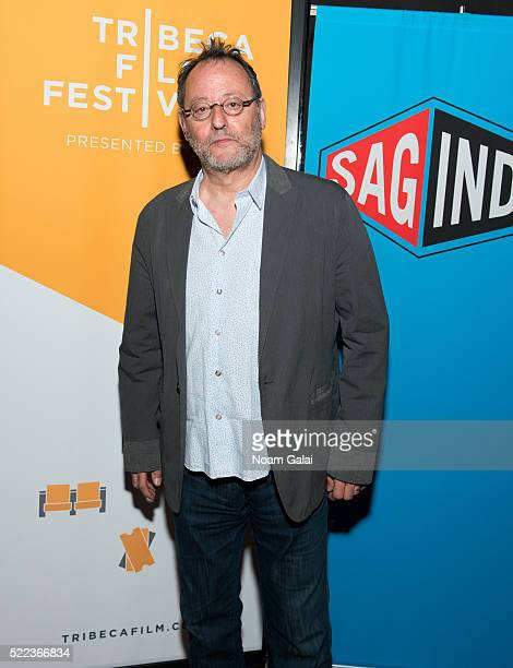 Actor Jean Reno attends the SAG Indie cast party during 2016 Tribeca Film Festival at Lucky Strike on April 18 2016 in New York City