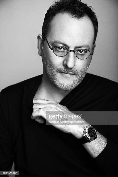 Actor Jean Reno poses at a portrait session for Madame Figaro Magazine in 2009 Published image Image ID 090484019 CREDIT MUST READ Marcus...