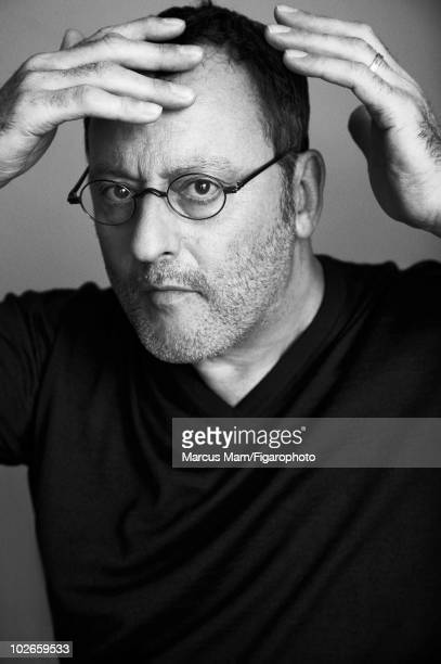Actor Jean Reno poses at a portrait session for Madame Figaro Magazine in 2009 Published image Image ID 090484006 CREDIT MUST READ Marcus...