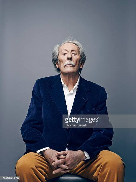 Actor Jean Rochefort is photographed for Self Assignment on June 22 2015 in Paris France