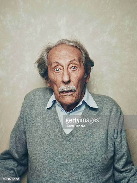 Actor Jean Rochefort is photographed for Self Assignment on October 1 2015 in Dinard France